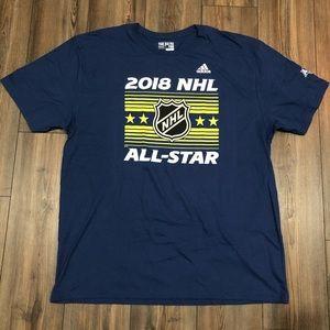 Blue 2018 NHL All-Star Shirt